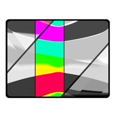 Colors Fadeout Paintwork Abstract Fleece Blanket (Small)