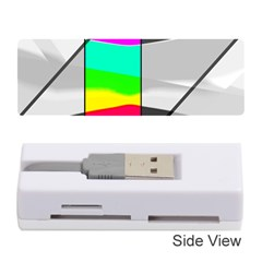 Colors Fadeout Paintwork Abstract Memory Card Reader (stick)