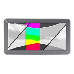 Colors Fadeout Paintwork Abstract Memory Card Reader (Mini)