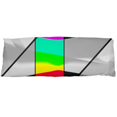 Colors Fadeout Paintwork Abstract Body Pillow Case Dakimakura (two Sides)