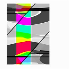 Colors Fadeout Paintwork Abstract Large Garden Flag (two Sides)