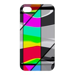 Colors Fadeout Paintwork Abstract Apple iPhone 4/4S Premium Hardshell Case
