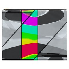 Colors Fadeout Paintwork Abstract Cosmetic Bag (xxxl)