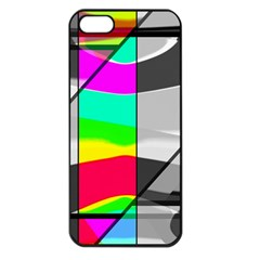 Colors Fadeout Paintwork Abstract Apple Iphone 5 Seamless Case (black)