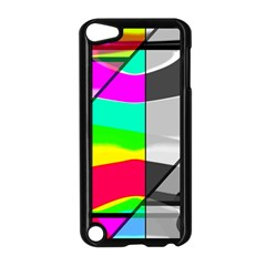 Colors Fadeout Paintwork Abstract Apple iPod Touch 5 Case (Black)