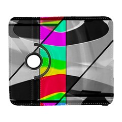 Colors Fadeout Paintwork Abstract Galaxy S3 (Flip/Folio)