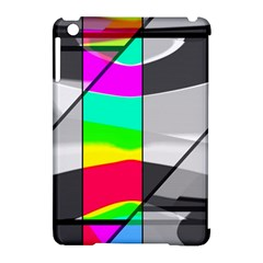 Colors Fadeout Paintwork Abstract Apple iPad Mini Hardshell Case (Compatible with Smart Cover)
