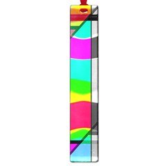 Colors Fadeout Paintwork Abstract Large Book Marks