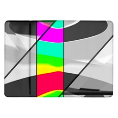 Colors Fadeout Paintwork Abstract Samsung Galaxy Tab 10 1  P7500 Flip Case