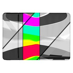 Colors Fadeout Paintwork Abstract Samsung Galaxy Tab 8.9  P7300 Flip Case