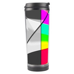Colors Fadeout Paintwork Abstract Travel Tumbler