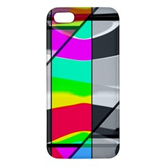 Colors Fadeout Paintwork Abstract iPhone 5S/ SE Premium Hardshell Case