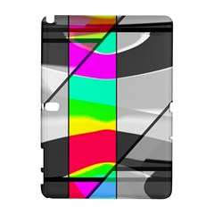 Colors Fadeout Paintwork Abstract Galaxy Note 1