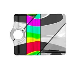 Colors Fadeout Paintwork Abstract Kindle Fire Hd (2013) Flip 360 Case