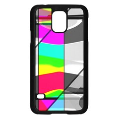 Colors Fadeout Paintwork Abstract Samsung Galaxy S5 Case (Black)