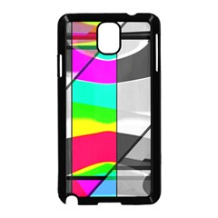 Colors Fadeout Paintwork Abstract Samsung Galaxy Note 3 Neo Hardshell Case (Black)