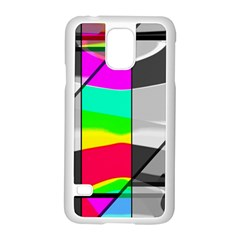 Colors Fadeout Paintwork Abstract Samsung Galaxy S5 Case (White)
