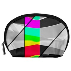 Colors Fadeout Paintwork Abstract Accessory Pouches (large)
