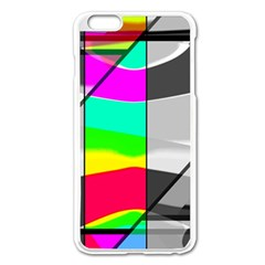 Colors Fadeout Paintwork Abstract Apple Iphone 6 Plus/6s Plus Enamel White Case