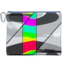 Colors Fadeout Paintwork Abstract Canvas Cosmetic Bag (XXXL)