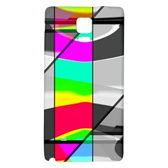 Colors Fadeout Paintwork Abstract Galaxy Note 4 Back Case