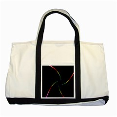 Digital Computer Graphic Two Tone Tote Bag