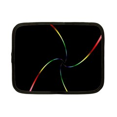 Digital Computer Graphic Netbook Case (small)
