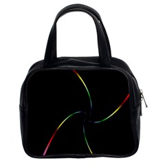 Digital Computer Graphic Classic Handbags (2 Sides)