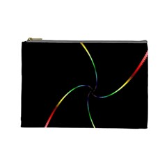 Digital Computer Graphic Cosmetic Bag (large)