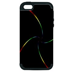 Digital Computer Graphic Apple Iphone 5 Hardshell Case (pc+silicone)