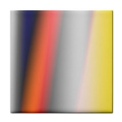 Digitally Created Abstract Colour Blur Background Tile Coasters