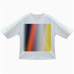 Digitally Created Abstract Colour Blur Background Infant/Toddler T-Shirts