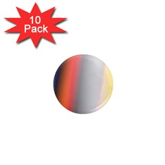 Digitally Created Abstract Colour Blur Background 1  Mini Magnet (10 Pack)