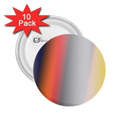 Digitally Created Abstract Colour Blur Background 2.25  Buttons (10 pack)