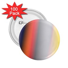 Digitally Created Abstract Colour Blur Background 2.25  Buttons (100 pack)