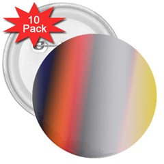 Digitally Created Abstract Colour Blur Background 3  Buttons (10 Pack)