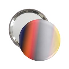 Digitally Created Abstract Colour Blur Background 2.25  Handbag Mirrors
