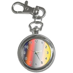 Digitally Created Abstract Colour Blur Background Key Chain Watches