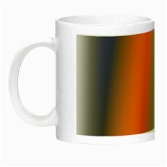 Digitally Created Abstract Colour Blur Background Night Luminous Mugs