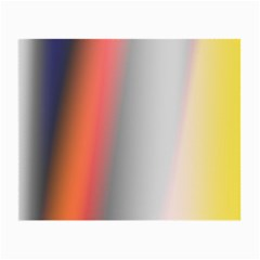 Digitally Created Abstract Colour Blur Background Small Glasses Cloth