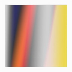 Digitally Created Abstract Colour Blur Background Medium Glasses Cloth (2-Side)