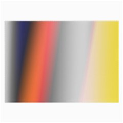 Digitally Created Abstract Colour Blur Background Large Glasses Cloth (2 Side)