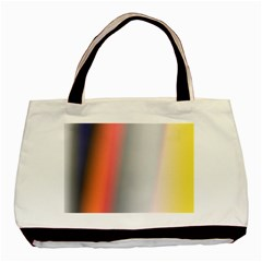 Digitally Created Abstract Colour Blur Background Basic Tote Bag (Two Sides)