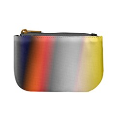 Digitally Created Abstract Colour Blur Background Mini Coin Purses