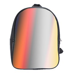 Digitally Created Abstract Colour Blur Background School Bags(large)