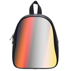 Digitally Created Abstract Colour Blur Background School Bags (small)