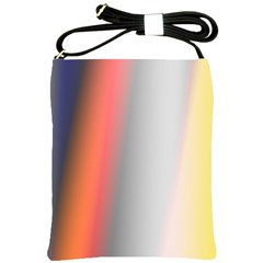 Digitally Created Abstract Colour Blur Background Shoulder Sling Bags