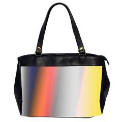 Digitally Created Abstract Colour Blur Background Office Handbags (2 Sides)
