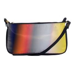 Digitally Created Abstract Colour Blur Background Shoulder Clutch Bags