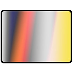 Digitally Created Abstract Colour Blur Background Fleece Blanket (large)